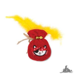 CATIT PLAY ZABAWKA Z KOCIMIĘTKĄ WOREK ZŁOTA Wszystkie >Koty >Zabawki dla Kota ( 022517424834 )