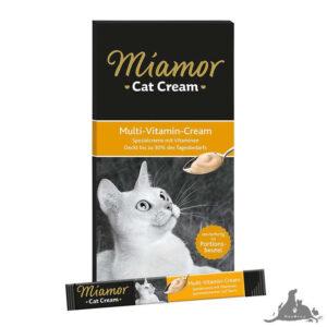 MIAMOR CAT SNACK MULTI-VITAMIN CREAM NATURALNA ODPORNOŚĆ 6 X 15 G Wszystkie >Koty >Przysmaki i Smakołyki dla Kota ( 4000158743060 )