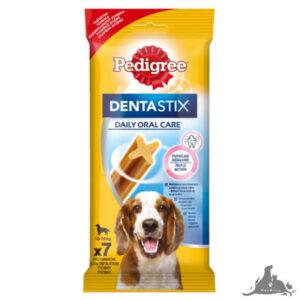 PEDIGREE DENTASTIX CODZIENNA PIELĘGNACJA JAMY USTNEJ ŚREDNIE RASY 180 G ( 7 SZT) Wszystkie >Psy >Kosmetyki i Pielęgnacja dla Psa >Higiena Jamy Ustnej  dla Psa ( 5010394984584 )