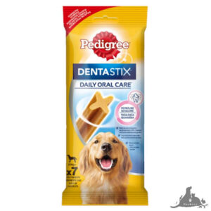 PEDIGREE DENTASTIX CODZIENNA PIELĘGNACJA JAMY USTNEJ DUŻE RASY 270 G ( 7 SZT) Wszystkie >Psy >Kosmetyki i Pielęgnacja dla Psa >Higiena Jamy Ustnej  dla Psa ( 5998749109113 )