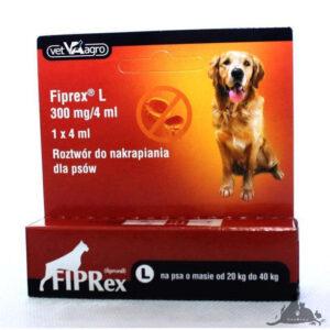FIPREX KROPLE L Wszystkie >Psy >Zdrowie  dla Psa >Na pchły i Kleszcze dla Psa ( 5909997066684 )