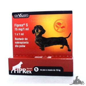 FIPREX KROPLE S Wszystkie >Psy >Zdrowie  dla Psa >Na pchły i Kleszcze dla Psa ( 5909997066660 )
