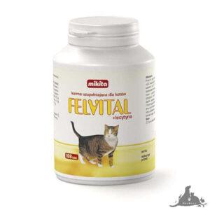 MIKITA FELVITAL + LECYTYNA 100 TABL Wszystkie >Koty >Zdrowie dla Kota >Witaminy i Odżywki dla Kota ( 5907615401053 )