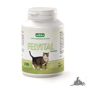 MIKITA FELVITAL + TAURYNA 100 TABL Wszystkie >Koty >Zdrowie dla Kota >Witaminy i Odżywki dla Kota ( 5907615401084 )