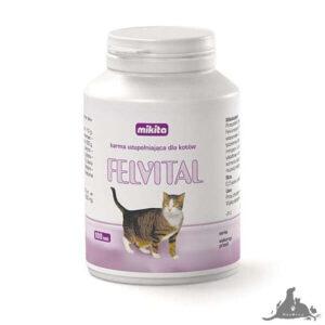 MIKITA FELVITAL 100 TABL Wszystkie >Koty >Zdrowie dla Kota >Witaminy i Odżywki dla Kota ( 5907615401046 )
