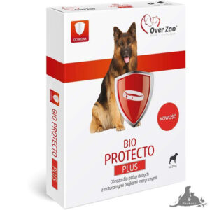 OVER ZOO OBROŻA DLA PSÓW 75 CM BIO PROTECTO PLUS OD 25 KG Wszystkie >Psy >Zdrowie  dla Psa >Na pchły i Kleszcze dla Psa ( 5903293701225 )