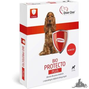 OVER ZOO OBROŻA DLA PSÓW 60 CM BIO PROTECTO PLUS OD 10-25 KG Wszystkie >Psy >Zdrowie  dla Psa >Na pchły i Kleszcze dla Psa ( 5903293701256 )