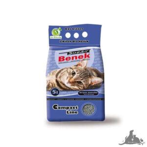 SUPER BENEK COMPACT BRYZA MORSKA 5 L Wszystkie >Koty >Akcesoria dla Kota >Podłoża i Neutralizatory dla Kota ( 5905397010043 )