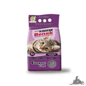 SUPER BENEK COMPACT LAWĘDA 5 L Wszystkie >Koty >Akcesoria dla Kota >Podłoża i Neutralizatory dla Kota ( 5905397010975 )