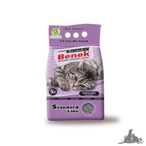 SUPER BENEK STANDARD LAWENDA 10L Wszystkie >Koty >Akcesoria dla Kota >Podłoża i Neutralizatory dla Kota ( 5905397010135 )