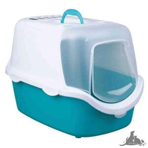 TRIXIE KUWETA VICO EASY CLEAN AKWAMARYNA/BIAŁY 40X40X56CM Wszystkie >Koty >Akcesoria dla Kota >Kuwety i Toalety dla Kota ( 4011905403458 )