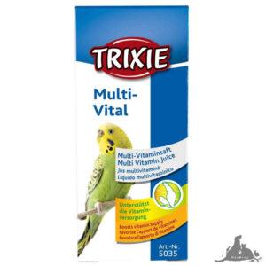 TRIXIE MULTIVITAL DLA PTAKÓW 50ML Wszystkie >Ptaki >Wapienka i Witaminy dla Ptaków ( 4011905050355 )