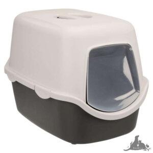 TRIXIE KUWETA VICO SZARY 40 X 40 X 56 CM Wszystkie >Koty >Akcesoria dla Kota >Kuwety i Toalety dla Kota ( 4011905402710 )