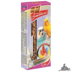 VITAPOL SMAKERS NA PIERZENIE DLA PAPUŻKI FALISTEJ 90 G Wszystkie >Ptaki >Pokarm i Przysmaki dla Ptaków >Papużka Falista ( 5904479021168 )