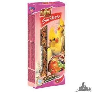 VITAPOL SMAKERS OWOCOWY DLA NIMFY 90 G Wszystkie >Ptaki >Pokarm i Przysmaki dla Ptaków >Nimfa ( 5904479022066 )