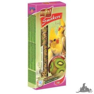 VITAPOL SMAKERS KIWI DLA NIMFY 90 G Wszystkie >Ptaki >Pokarm i Przysmaki dla Ptaków >Nimfa ( 5904479022097 )