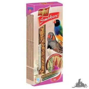 VITAPOL SMAKERS NASIENNY DLA ZEBERKI I PTAKÓW EGZOTYCZNYCH 90 G Wszystkie >Ptaki >Pokarm i Przysmaki dla Ptaków >Zeberka i Egzotyczne ( 5904479023087 )