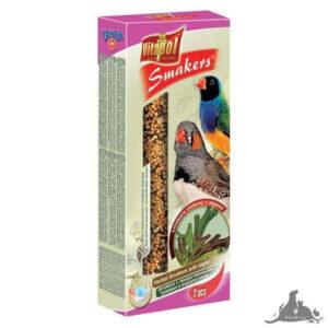VITAPOL SMAKERS ZIOŁOWY Z ALGAMI DLA ZEBERKI I PTAKÓW EGZOTYCZNYCH 90 G Wszystkie >Ptaki >Pokarm i Przysmaki dla Ptaków >Zeberka i Egzotyczne ( 5904479023094 )
