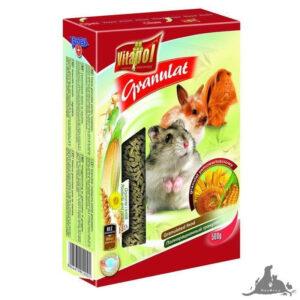 VITAPOL GRANULAT 500 G Wszystkie >Gryzonie >Pokarm dla Gryzoni ( 5904479010001 )